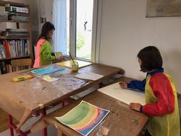 Malen im Atelier farbRAUM